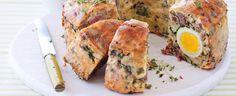 Tradiční velikonoční nádivka s vajíčkem Quiche, Breakfast, Food, Morning Coffee, Essen, Quiches, Meals, Yemek, Eten