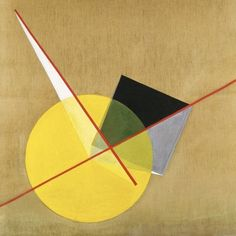 László Moholy-Nagy Yellow Circle, 1921 MoMA