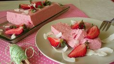 Diétás epres joghurttorta sütés nélkül