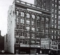 The Adams Theater, Detroit.