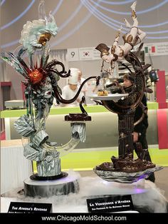 Exquisite showpieces - Coupe du Monde de la Patisserie 2013 - The Chicago School of Mold Making