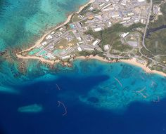 """NAHA--Construction of a new U.S. military base in Okinawa Prefecture may face a further obstacle after additional archaeological remains were discovered around the site.  Researchers were given permission to survey the area inside the U.S. forces' Camp Schwab after an """"ikari-ishi,"""" an anchor stone of medieval ships, was found there in February. Now fragments of pottery and stone tools have been found near the sea area in the Henoko district of Nago."""