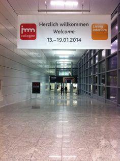 « Le premier événement de design de l'année commence aujourd'hui – IMM Cologne en Allemagne. »