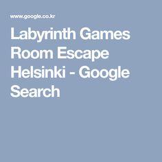Labyrinth Games Room Escape Helsinki - Google Search Helsinki Things To Do, Labyrinth Game, Game Room, Games, Google Search, Game Rooms, Gaming, Plays, Game