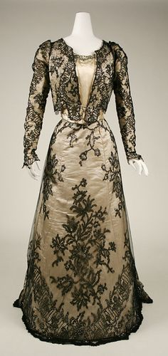 Evening Dress c.1898-1899 The Metropolitan Museum of Art