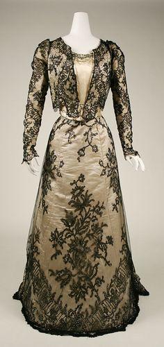 Evening Dress  c.1898-1899  The Metropolitan Museum of Art