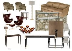 Eames, Lounge, Chair, Furniture, Home Decor, Interior Designing, Design Interiors, Airport Lounge, Decoration Home