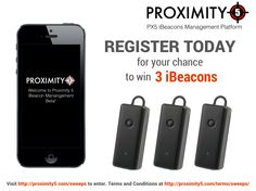 Proximity 5 - Enter to Win 3 iBeacons when you enroll in Proximity 5 Beta Enter To Win, Conditioner, Management, Platform, Iphone, Wedge, Heel Boot