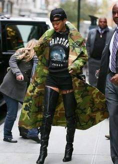 @Rihanna got her #swagger on