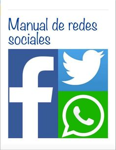 "Portada del iBook titulado ""Manual de Redes Sociales""."