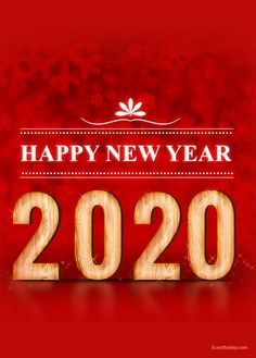Awesome collection of happy new year images Save these images and share with your loved ones and social media status/post. Happy New Year Images, Happy New Year 2020, Birthday Cards For Girlfriend, Happy New Year Wallpaper, Wish Come True, True Feelings, E Cards, Christmas Time, Holiday