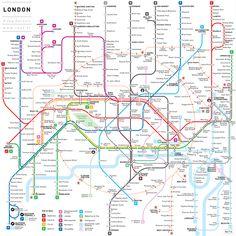 London : INAT metro maps