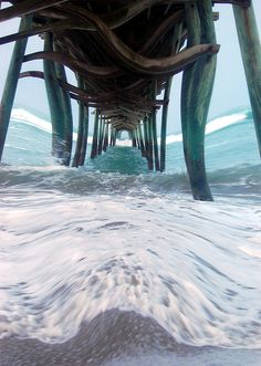 Title:  Pier   Artist:  Mim White   Medium:  Photograph
