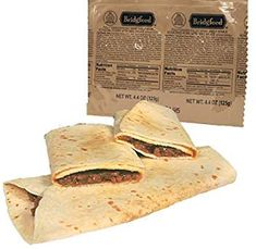 Bridgford BBQ Pork Wrap MRE - Camping or Hiking Snack Survival Food Ready to Eat Meals - 3 Pack: Amazon.com: Grocery & Gourmet Food