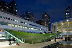 Outdoor ampitheatre - Pavilion at Lincoln Center Arup (New York Office)