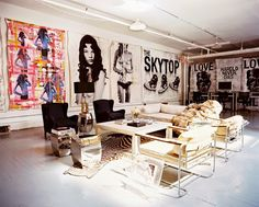 Home Tour: A Pro Skateboarder's Artistic New York Loft New York Loft, Decoration Inspiration, Interior Inspiration, Decor Ideas, Interior Ideas, Art Ideas, Design Inspiration, Casa Jenner, Kylie Jenner Room