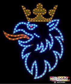 Scania Greif 24V >Aufkleber farbig< Größe bis XXL 135 blauen LED - LED-Logos