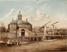 Utrechtsepoort in de 17e eeuw (1664) die deel uitmaakte van de vestingwerken van Amsterdam. De poort was gelegen aan de zuidkant van het Utrechtseplein, tegenwoordig het Frederiksplein ter hoogte van de brug Westeinde-van Woustraat. De Utrechtsepoort werd gesloopt in 1858 ivm de bouw van het Paleis voor Volksvlijt. Sinds 1968 staat hier De Nederlandsche Bank.