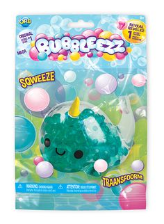 These collectible characters are filled with Bubbleezzbeads. Kids can squeeze and transform hidden charms and messages inside that reveal the Bubbleezz' unique personality. Toy Cars For Kids, Cool Toys For Girls, Kids Toys, 8 Year Old Christmas Gifts, 10 Year Old Gifts, Disney Princess Toys, Barbie Princess, Num Noms Toys, Preschool Crafts