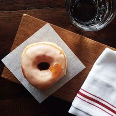Blood Orange Donut / jchongstudio on instagram