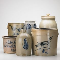 So love salt glazed pottery......