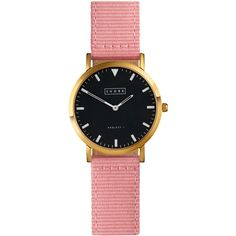 Shore Projects Pink St Ives Watch (1.160 DKK) found on Polyvore
