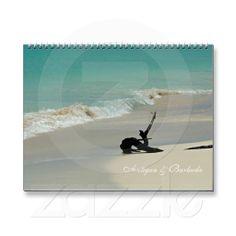 Antigua & Barbuda Calendar...gorgeous beaches including the pink sand beach