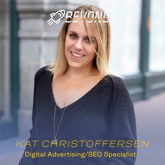 """""""My motto is to always be a student. There are always new things to discover. I was drawn to the digital marketing industry because of the continual change, and I do my part by keeping up with the latest trends and constantly testing new avenues for advertising. Our clients put their trust in us and I take that to heart. I treat each account as if it were my own investment and work hard to get them the best possible results."""" — Kat Christoffersen 💛⠀⠀⠀⠀⠀⠀⠀⠀⠀ Seo Specialist, My Motto, Keep Up, Work Hard, Digital Marketing, Latest Trends, Trust, Interview, Advertising"""