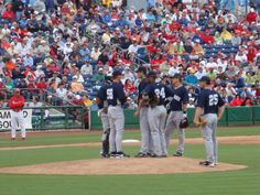 Trouble for the Yankees at Brighthouse Networks Stadium, Clearwater, Florida. Spring Training home of the Philadelphia Phillies... 2009