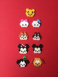 Hama mini Beads, Disney tsum tsum #disney