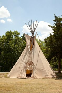 Do you want a more unique lodging option while #camping? At Roman Nose State Park in Watonga, #Oklahoma, you can rent a teepee to stay in during your next #vacation!