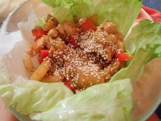 Fitness & hubnutí: Kuřecí salát s ananasem