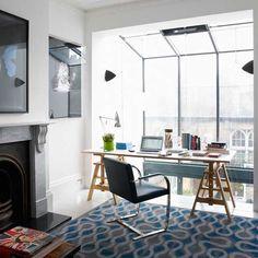 love a bright office! #cool #window #loft