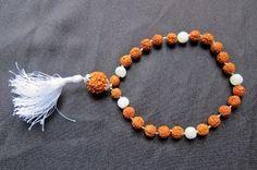 Balance the Emotions & Good Luck - Rudraksh Moonstone Hand Mala Bracelet with 27+1 Bead by Mogul Interior, http://www.amazon.com/dp/B007R3GSE0/ref=cm_sw_r_pi_dp_-7OHpb12B86DK$24.99