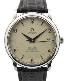 Beautiful Omega De Ville Automatic Chronometer #classic #omega #watches