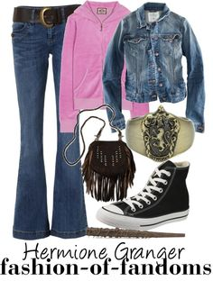 """Hermione Granger"" by fofandoms ❤ liked on Polyvore"
