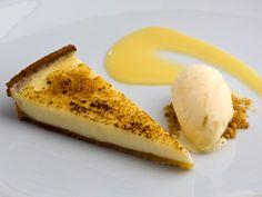 Creme Fraiche Tart with Lemon Curd Ice Cream - http://www.dailycandy.com/everywhere/article/77324/Kitchen-W8s-Creme-Fraiche-Tart-with-Lemon-Curd-Ice-Cream-Recipe