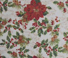 Conoce el algodón trineo, una tela estampada que será el complemento perfecto de tu decoración navideña. #ConfeccionaTusIdeas