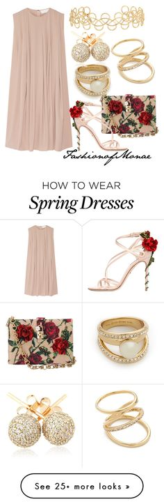 """""""Spring"""" by monaeoffashion on Polyvore featuring Kate Spade, Dolce&Gabbana, CO, Elizabeth and James, Acne Studios and Loushelou"""