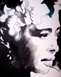 Billie Holiday Lady Day 11 x 17 Signed Watercolor by VitoArt, $25.00
