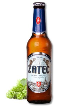 Žatec Blue Label - This beer of Žatec is sold on the world's markets at the highest price and quality level as a top Czech lager made of the top quality raw materials and by the classical Czech technological procedure in a region which is renowned for the growing of top-quality hops, the main material used for the brewing of beer, all over the world. Malt Beer, Beer Bar, Czech Beer, Beer Stein, Brew Pub, Beer Recipes, Beverages, Drinks, Beer