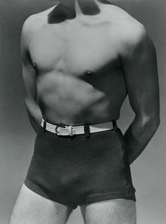 George Hoyningen-Huene, Horst Torso with Beachwear, c. 1930