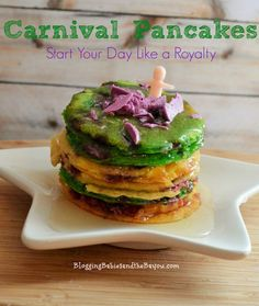 Start Your Day Like Carnival Royalty - Mardi Gras Pancakes