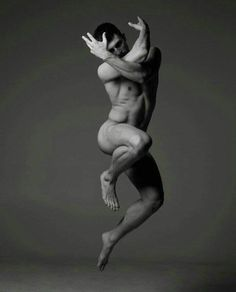 Male Model Jumping 120