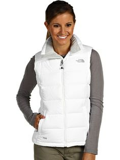 The North Face Womens Nuptse 2 Vest Jacket Winter down coat White M-XXL NEW  in Clothing, Shoes & Accessories, Women's Clothing, Coats & Jackets