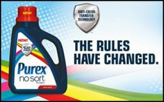 Purex No Sort laundry detergent