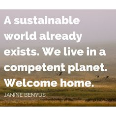Janine Benyus' opening keynote at the Living Future 2015 un-conference described a future mentored and measured by nature's standards.