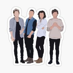 One Direction stickers featuring millions of original designs created by independent artists. Decorate your laptops, water bottles, notebooks and windows. White or transparent. 4 sizes available. One Direction Fotos, One Direction Drawings, One Direction Wallpaper, One Direction Pictures, One Direction Merch, Band Stickers, Bubble Stickers, Cute Stickers, Preppy Stickers