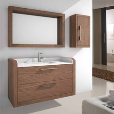 Mueble de baño Diaman-t, presenta un diseño actualizado, los costados se alargan, los laterales son más gruesos, el espejo sirve de repisa. Innovamos para satisfacer necesidades y preferencias.