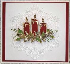 Image result for memory box glowing candles cards